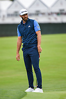 Dustin Johnson (USA) reacts to his long putt on 6 during round 2 of the 2019 US Open, Pebble Beach Golf Links, Monterrey, California, USA. 6/14/2019.<br /> Picture: Golffile | Ken Murray<br /> <br /> All photo usage must carry mandatory copyright credit (© Golffile | Ken Murray)