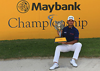 Shubhankar Sharma (IND) winner of the Maybank Championship at the Saujana Golf and Country Club in Kuala Lumpur on Saturday 4th February 2018.<br /> Picture:  Thos Caffrey / www.golffile.ie<br /> <br /> All photo usage must carry mandatory copyright credit (&copy; Golffile | Thos Caffrey)