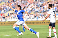 Celebration after a goal of Andrea Cistana <br /> Brescia 15/09/2019 Stadio Mario Rigamonti <br /> Football Serie A 2019/2020 <br /> Brescia Calcio - Bologna FC <br /> Photo Image Sport / Insidefoto
