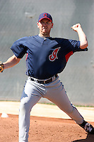 Ryan Morris, Cleveland Indians 2010 minor league spring training..Photo by:  Bill Mitchell/Four Seam Images.