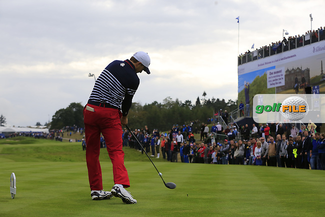 \\ during Sunday's Singles Matches of the Ryder Cup 2014 played on the PGA Centenary Course at the Gleneagles Hotel, Auchterarder, Scotland.: Picture \273022002461\, \273022002461#2\: 28th September 2014