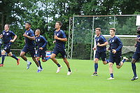 VOETBAL: LANGEZWAAG: 18-06-2016, SC Heerenveen 1e training, ©foto Martin de Jong