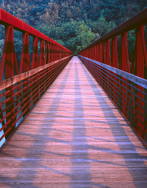 Appalachian Trail, Jame River Footbridge