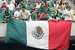24 June 2007:  Mexico fans. The United States Men's National Team defeated the national team of Mexico 2-1 in the CONCACAF Gold Cup Final at Soldier Field in Chicago, Illinois.