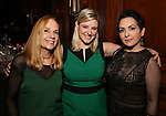 Charlotte Caffey, Laura Heywood and Jane Wiedlin attends 2017 Dramatists Guild Foundation Gala reception at Gotham Hall on November 6, 2017 in New York City.