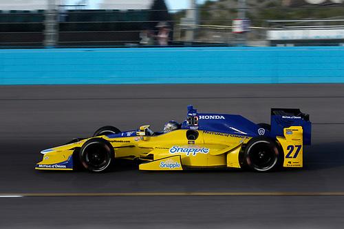 26-27 February, 2016, Avondale, Arizona USA<br /> 27 Marco Andretti<br /> ©2016, Phillip Abbott<br /> LAT Photo USA
