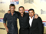 "HOLLYWOOD, CA. - August 24: Norman Reedus, Clifton Collins, Jr. and Jacob Vargas (L-R) arrive at the Los Angeles premiere of ""Extract"" at the ArcLight Hollywood on August 24, 2009 in Hollywood, California."