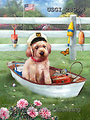 GIORDANO, CUTE ANIMALS, LUSTIGE TIERE, ANIMALITOS DIVERTIDOS, paintings+++++,USGI2895M,#AC# ,dogs