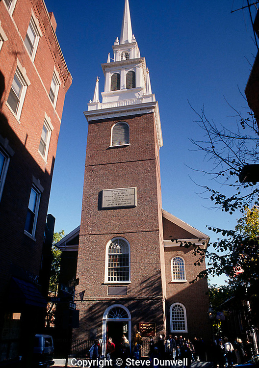 Old North Church, North End, Boston, MA