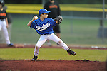 The Giants vs. Dodgers in Germantown Baseball League at Cameron Brown #3 in Germantown, Tenn. on Tuesday, April 14, 2015.