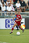 19 June 2003: Dagny Mellgren of Norway and the Boston Breakers. The WUSA World Stars defeated the WUSA American Stars 3-2 in the WUSA All-Star Game held at SAS Stadium in Cary, NC.