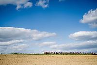 peloton pacing along<br /> <br /> 60th Grand Prix de Wallonie 2019<br /> 1 day race from Blegny to Citadelle de Namur (BEL / 206km)<br /> <br /> ©kramon