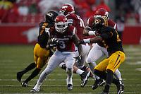 HAWGS ILLUSTRATED JASON IVESTER --11/27/2015--<br /> Arkansas vs Missouri football