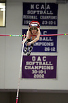 12 MAR 2011: Karin Fisher of (MIT) Mass. Instit. of Tech. pole vaults during the Division III Men's and Women's Indoor Track and Field Championships held at the Capital Center Fieldhouse on the Capital University campus in Columbus, OH.  Jay LaPrete/NCAA Photos
