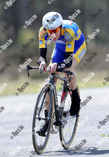 2011-04-12 / Wielrennen / seizoen 2011 / PK Tijdrijden / Pieter Van Echelpoel..Foto: Mpics