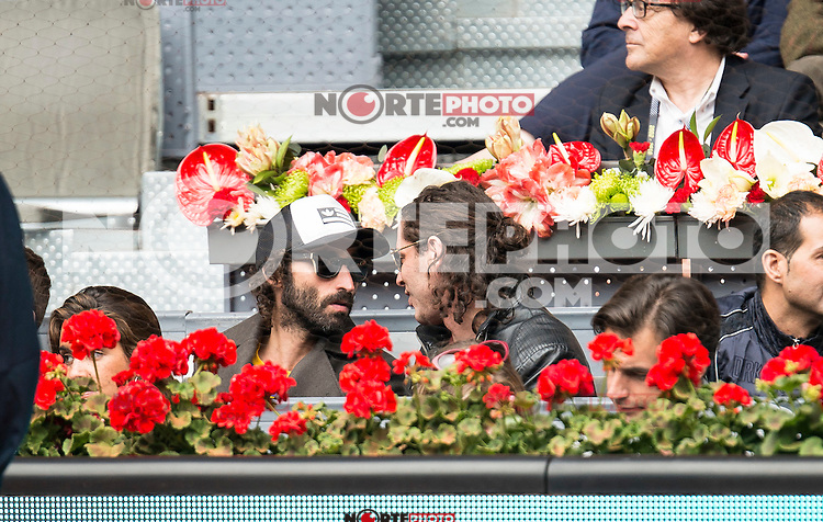Leiva during Mutua Madrid Open Tennis 2016 in Madrid, May 07, 2016. (ALTERPHOTOS/BorjaB.Hojas) /NortePhoto.com