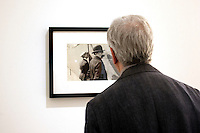 Roma 25-09-2014 Ara Pacis. Mostra fotografica retrospettiva su Henri Cartier-Bresson.<br /> Henri Cartier-Bresson photographic exhibition<br /> Photo Samantha Zucchi Insidefoto