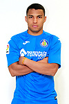 Getafe CF's Jefferson Montero during the session of the official photos for the 2017/2018 season. September 19,2017. (ALTERPHOTOS/Acero)