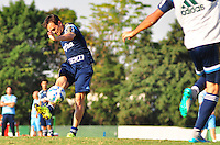 SÃO PAULO,SP, 07.08.2015 - FUTEBOL-PALMEIRAS - Lucas do Palmeiras durante treinamento do Palmeiras na Academia de Futebol na Barra Funda zona oeste, nesta sexta-feira 07. (Foto: Bruno Ulivieri/Brazil Photo Press)