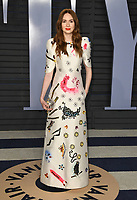 04 March 2018 - Los Angeles, California - Karen Gillan. 2018 Vanity Fair Oscar Party hosted following the 90th Academy Awards held at the Wallis Annenberg Center for the Performing Arts. <br /> CAP/ADM/BT<br /> &copy;BT/ADM/Capital Pictures