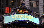 "Cast and creators of the new Broadway play ""The Performers"" at the Hard Rock Cafe on Tuesday, Sept. 25, 2012 in New York."