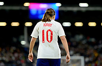 Fran Kirby of England during the Women's International friendly match between England Women and Australia at Ashton Gate, Bristol, England on 9 October 2018. Photo by Bradley Collyer / PRiME Media Images.