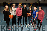 Volunteers, Gda Liz Toomey, Aoife Bourke, Gda Mary Gardener, Nathan Egan, Helena Falvey, Majella Moloney Ahern and Aoibhín O'Mahoney at the annual Garda Basketball Blitz at the Community Centre on Friday.