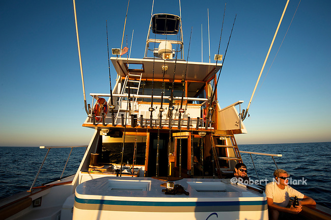 Offshore fishing off the coast of San Diego and Northern Baja California on the sport fisher Faith