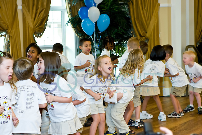 May 22, 2009. Kylie's kindergarten graduation at the Learning Center in Largo, Florida.
