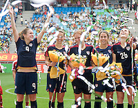 Heather O'Reilly, Heather Mitts, Lori Chalupny, Kacey White, Rachel Buehler.  The USWNT defeated Canada, 1-0, at Suwon World Cup Stadium in Suwon, South Korea, to win the Peace Queen Cup.