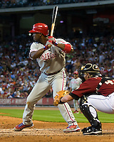Rollins, Jimmy 6301.jpg Philadelphia Phillies at Houston Astros. Major League Baseball. September 6th, 2009 at Minute Maid Park in Houston, Texas. Photo by Andrew Woolley.