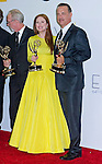 """JULIANNE MOORE AND TOM HANKS (Game Change) - 64TH PRIME TIME EMMY AWARDS.Nokia Theatre Live, Los Angelees_23/09/2012.Mandatory Credit Photo: ©Dias/NEWSPIX INTERNATIONAL..**ALL FEES PAYABLE TO: """"NEWSPIX INTERNATIONAL""""**..IMMEDIATE CONFIRMATION OF USAGE REQUIRED:.Newspix International, 31 Chinnery Hill, Bishop's Stortford, ENGLAND CM23 3PS.Tel:+441279 324672  ; Fax: +441279656877.Mobile:  07775681153.e-mail: info@newspixinternational.co.uk"""