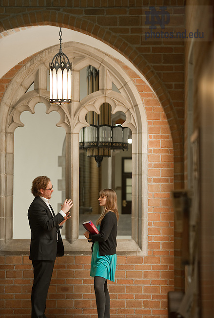 Mar. 7, 2012; ACMS master's program..Photo by Matt Cashore/University of Notre Dame