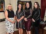 Joanne Cotton, Elaine Maguire, Linda Walsh and Karen Sharpe at the Thompson family reunion in the Pheasant. Photo:Colin Bell/pressphotos.ie