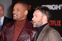 "Will Smith and Joel Edgerton<br /> arriving for the ""Bright"" European premiere at the BFI South Bank, London<br /> <br /> <br /> ©Ash Knotek  D3364  15/12/2017"