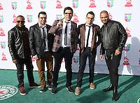 LAS VEGAS, NV - NOVEMBER 15 :  Paulo Baruk and Banda Salluz pictured at the 2012 Latin Grammys at Mandalay Bay Resort on November 15, 2012 in Las Vegas, Nevada.  Credit: Kabik/Starlitepics/MediaPunch Inc. /NortePhoto