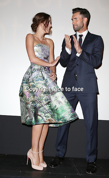 Keira Knightley and Adam Levine during the 2013 Tiff Film Festival Presentation for &quot;Can A Song Save Your Life?&quot; at The Princess of Wales Theatre on September 7, 2013 in Toronto, Canada.<br />