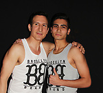 "Actors William DeMeo & Cristian DeMeo in film - Brooklyn, New York celebrates Actor William DeMeo's upcoming role in Gotti film in which he plays Sammy ""The Bull"" Gravano in a block party on May 23, 2018 along with cast.  (Photo by Sue Coflin/Max Photos)"