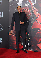 LOS ANGELES, CA - NOVEMBER 13: Ray Fisher, at the Justice League film Premiere on November 13, 2017 at the Dolby Theatre in Los Angeles, California. Credit: Faye Sadou/MediaPunch