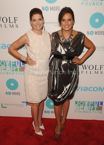 New York,NY-May 29: Debra Messing, Mariska Hargitay Attends Mariska Hargitayís Joyful Heart Foundation 10th anniversary  in New York City on May 29, 2014. Credit: John Palmer/MediaPunch