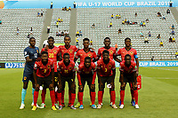29th October 2019; Bezerrao Stadium, Brasilia, Distrito Federal, Brazil; FIFA U-17 World Cup Brazil 2019, Angola versus Canada; Players of Angola poses for their official photo - Editorial Use