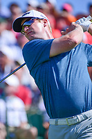 Ryan Brehm (USA) watches his tee shot on 1 during Saturday's round 3 of the 117th U.S. Open, at Erin Hills, Erin, Wisconsin. 6/17/2017.<br /> Picture: Golffile | Ken Murray<br /> <br /> <br /> All photo usage must carry mandatory copyright credit (&copy; Golffile | Ken Murray)