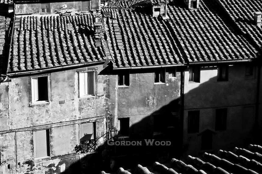 Rooftops of Siena Italy