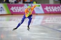 SCHAATSEN: Calgary: Essent ISU World Sprint Speedskating Championships, 28-01-2012, 500m Heren, Sjoerd de Vries, ©foto Martin de Jong