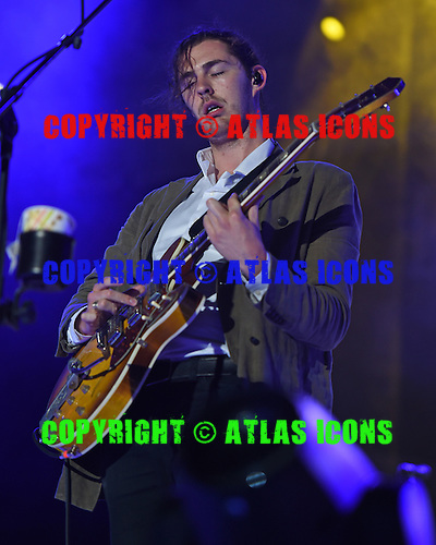 WEST PALM BEACH - MAY 02: Andrew Hozier Byrne known as Hozier performs during Day 4 of Sunfest on May 2, 2015 in West Palm Beach, Florida.(Photo By Larry Marano (C) 2015