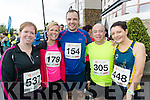 Pictured at the Rose of Tralee 10k on Sunday morning at Tralee Bay Wetlands were l-r: Sinead Egan and Sandra Egan (Tralee) with Ed and Dave Leahy (Limerick) and Ciara Delaney (Kilkenny).
