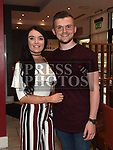 Megan Shevlin celebrating her 21st birthday in Brú with cousin Cillian Shevlin. Photo:Colin Bell/pressphotos.ie