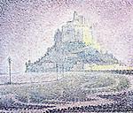 Mont Saint-Michel, Fog and Sun, 1897<br /> Paul Signac (1863&ndash;1935) <br /> oil on canvas