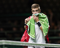 ABN AMRO World Tennis Tournament, Rotterdam, The Netherlands, 14 februari, 2017, Borna Coric (CRO) <br /> Photo: Henk Koster