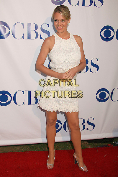 JERI RYAN.CBS Summer 2007 TCA Press Tour Party at the Wadsworth Theatre, Brentwood, California, USA,.19 July 2007..full length white dress.CAP/ADM/BP.©Byron Purvis/AdMedia/Capital Pictures.